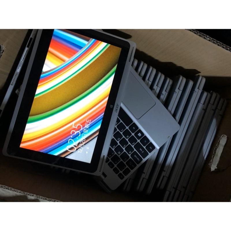 桌機王-Acer 10吋變形金剛筆電 9.8新未使用過 Cpu z37451.4g
