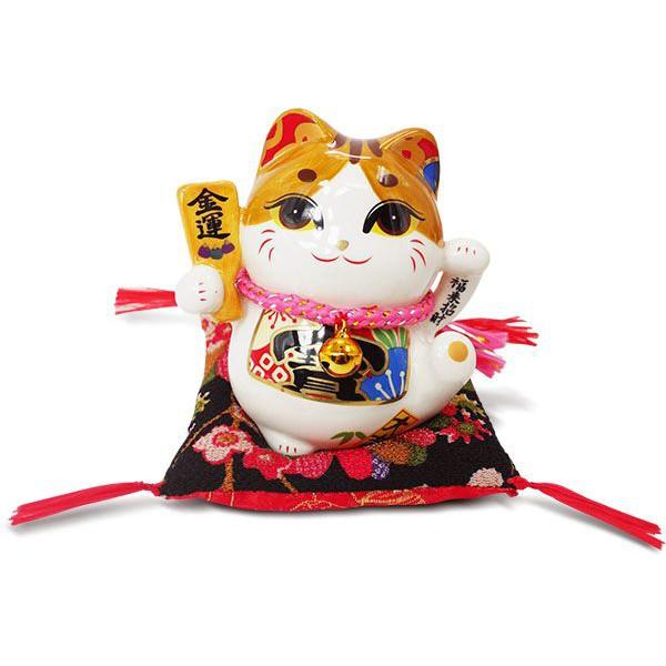 【金石工坊】福來招財睜眼貓(高10CM)招財貓 陶瓷開運桌上擺飾 撲滿存錢筒