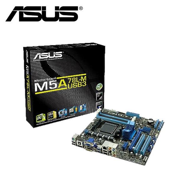 華碩 M5A78L-M PLUS/USB3 主機板