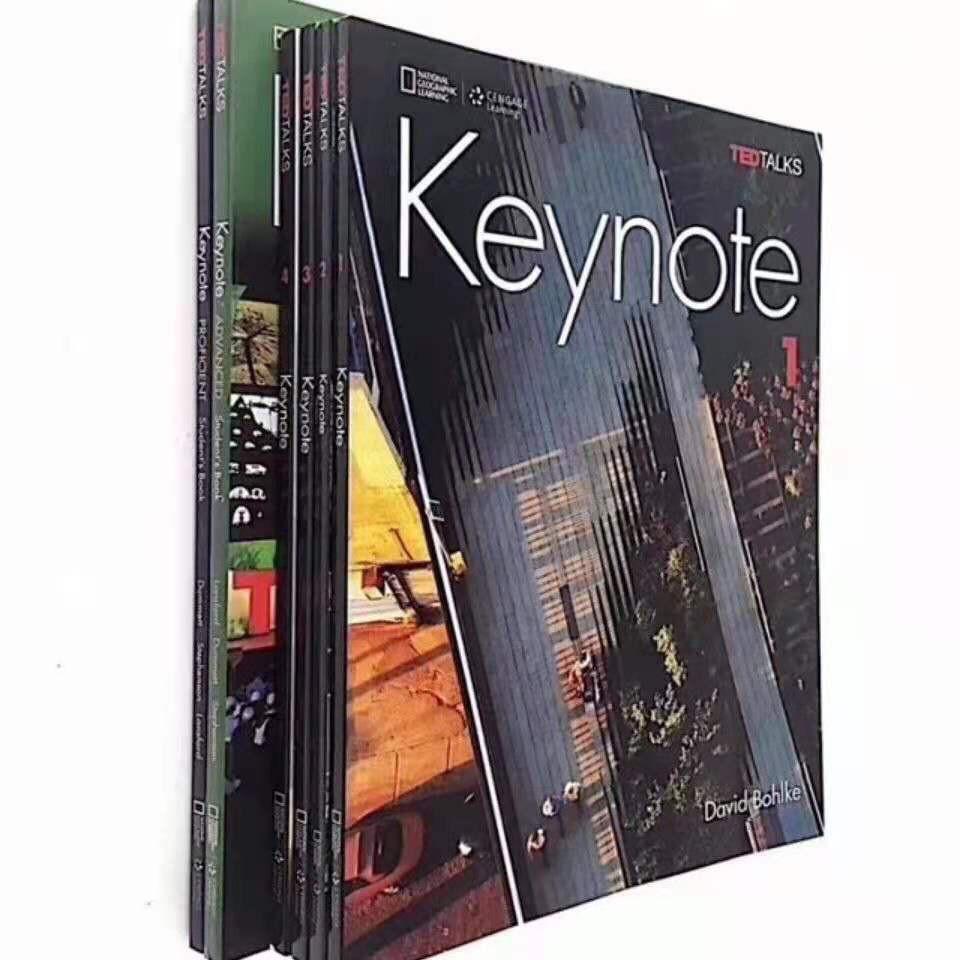 青少綜合教材 keynote 1/2/3/4級國家地理  影印版