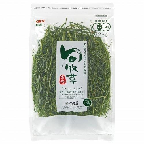 日本GEX《旬牧草(義大利黑麥草)65282》120g/包 鼠兔專用『WANG』