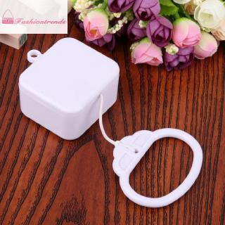 FashionTrends拉線繩音樂盒白色嬰兒嬰兒兒童床鈴搖鈴玩具禮物