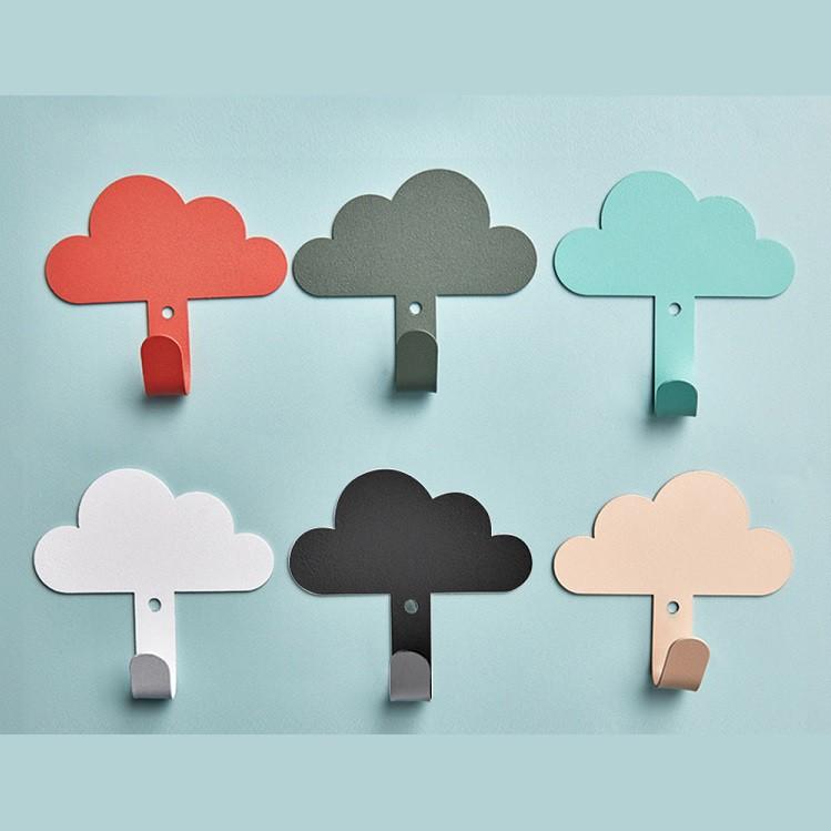 雲朵造型掛勾  掛勾 免釘掛勾 白雲黏貼掛勾 居家掛鉤 黏膠掛鉤 居家裝飾【RS1206】