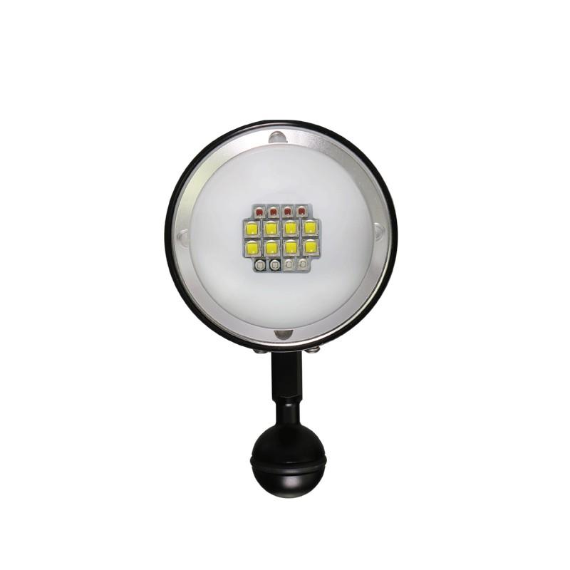 ARCHON奧瞳D36V II潛水手電筒探照燈補光燈