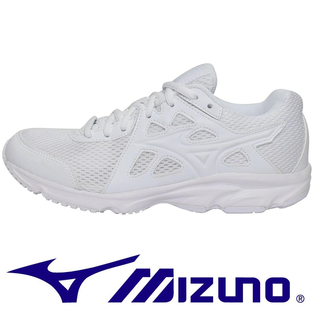 鞋大王Mizuno K1GA-170201 白色 MAXIMIZER 19 慢跑鞋#寬楦#特價出清#578M