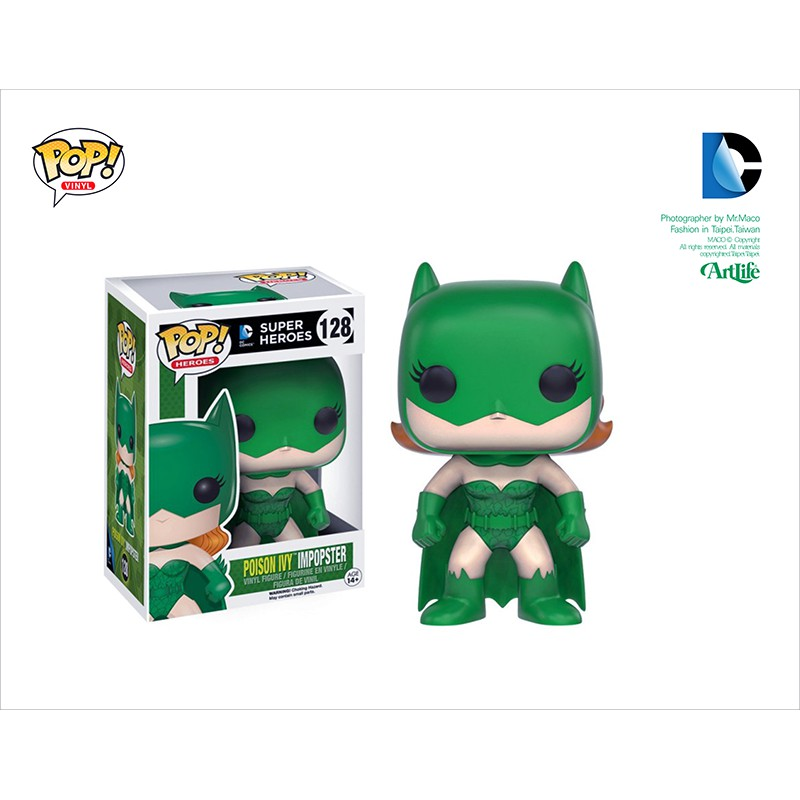Artlife ㊁ FUNKO POP DC BATMAN Super Heroes POISON 蝙蝠俠 毒藤女