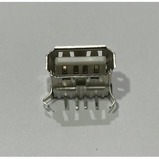 ►190◄(2個3元) USB-A母座 90度 彎腳 USB-A USB插座 DIY 接頭 充電器電源改裝必備件