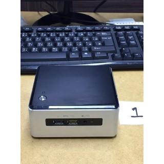 intel 迷你電腦 NUC 6代 i5-6260U 8G DDR4 記憶體 250GB 三星 850 EVO 二手 桃園市