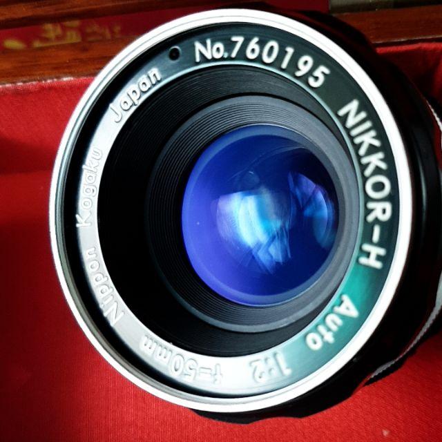 Nikon Nikkor-H auto Nippon Kogaku Japan 50mm F2 定焦標準鏡(附Aid環)