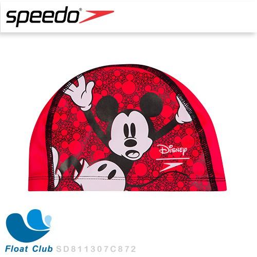 SPEEDO 兒童合成泳帽 Pace 米奇 迪士尼 6-14歲 彈性泳帽 快乾泳帽 不夾頭 兒童泳帽 原價NT.450元