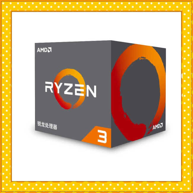 Amd Ryzen 3 1200 (Am4 / 四核 / 3.1ghz / 10m 緩存 / 65w) 盒裝 Cpu
