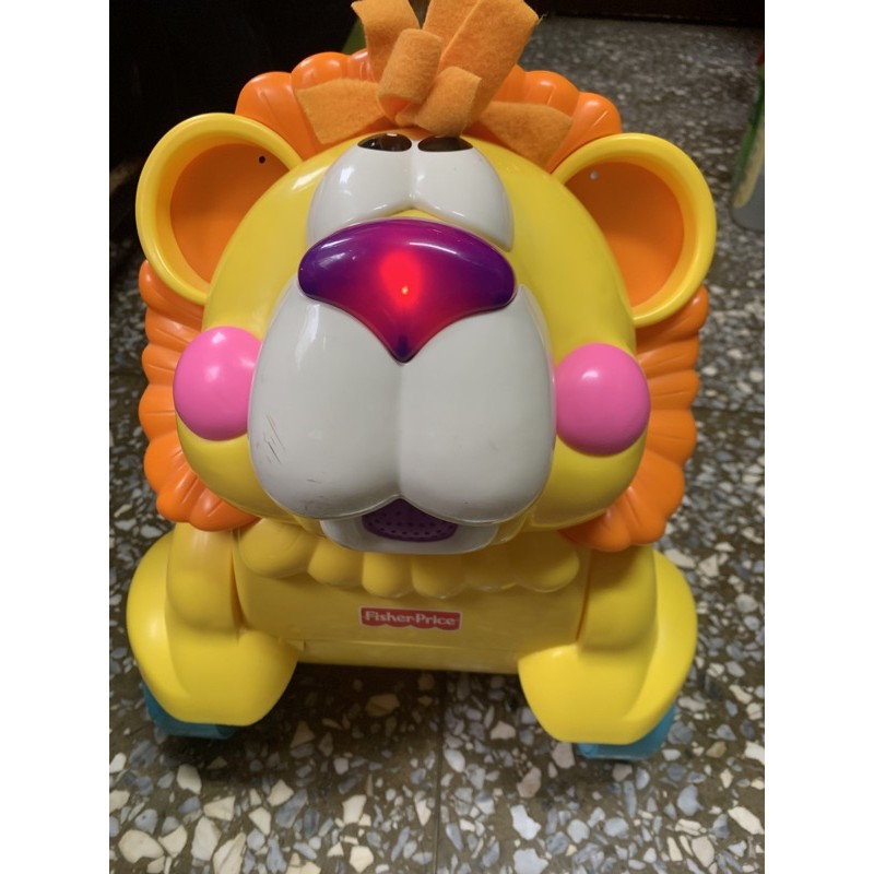 費雪寶寶學步車 獅子款