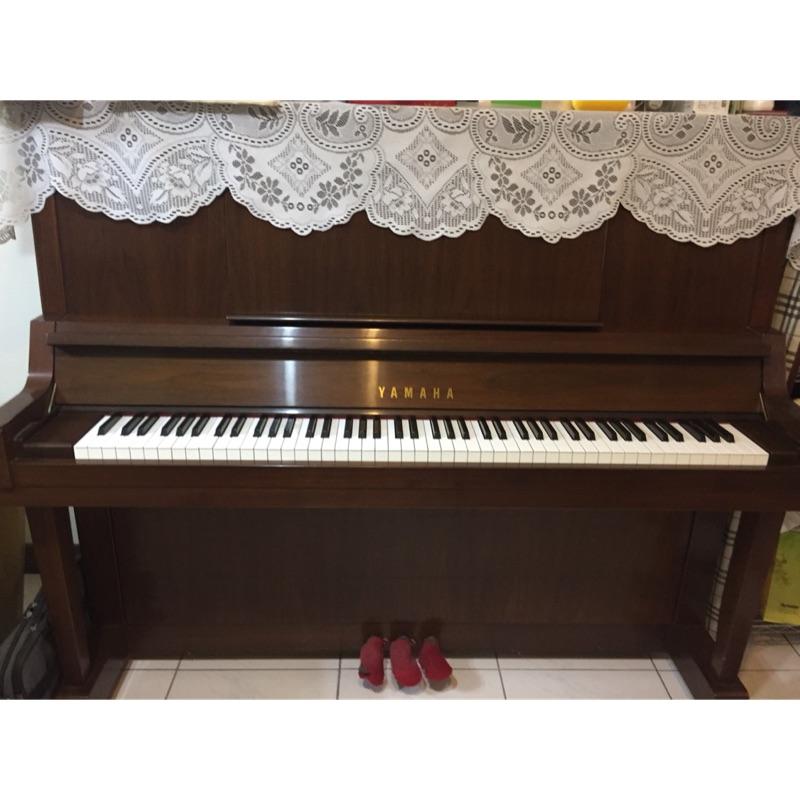 二手鋼琴 yamaha山葉 U30 胡桃原木色鋼琴 台灣製 高雄左營可自取