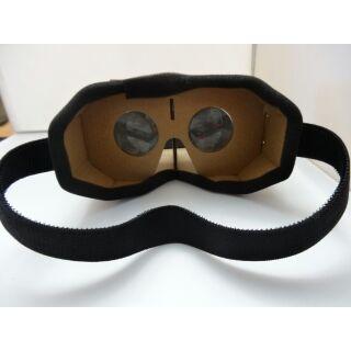VR Google Cardboard 3D眼鏡 VR實境顯示器google 眼鏡超低價DIY組合附頭帶4.2mm大鏡片 桃園市