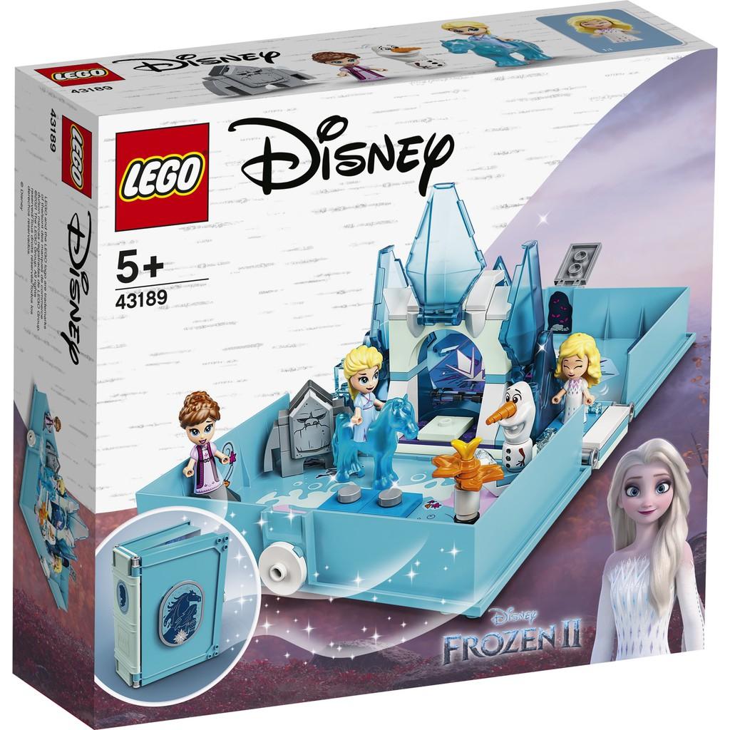 LEGO 樂高 43189 Elsa and the Nokk Storybook Adventures