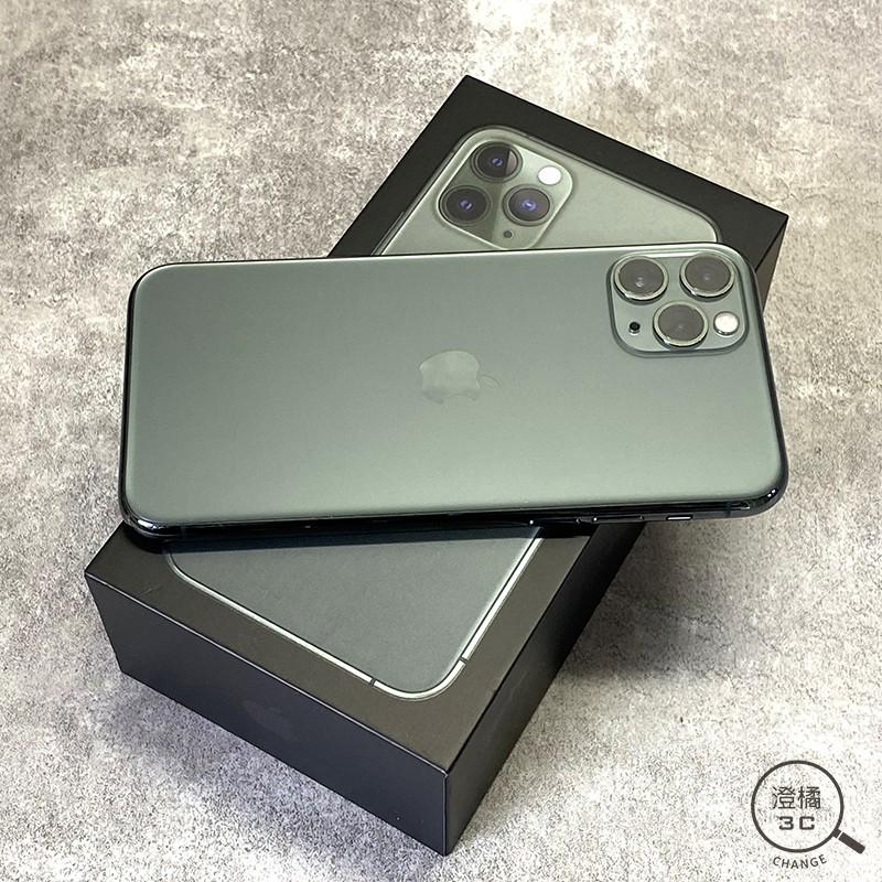 『澄橘』Apple iPhone 11 PRO 256G 256GB (5.8吋) 綠 二手 中古《瑕疵機》A52500
