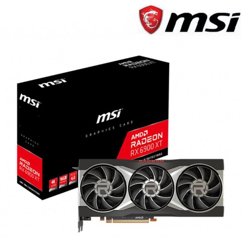 一次購齊,全新AMD Ryzen 5950X台灣公司貨+微星 Radeon RX 6900 XT 16G 四年保