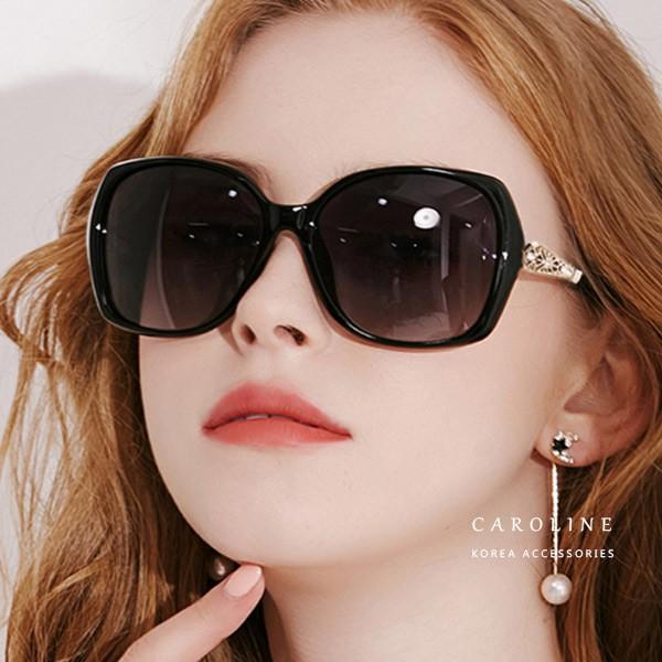 3色 年度最新網紅款抗UV太陽眼鏡 72185