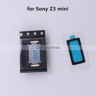 索尼 Z3 Compact Z3Mini D5803 D5833 M55W 原裝耳機揚聲器,  帶膠帶更換