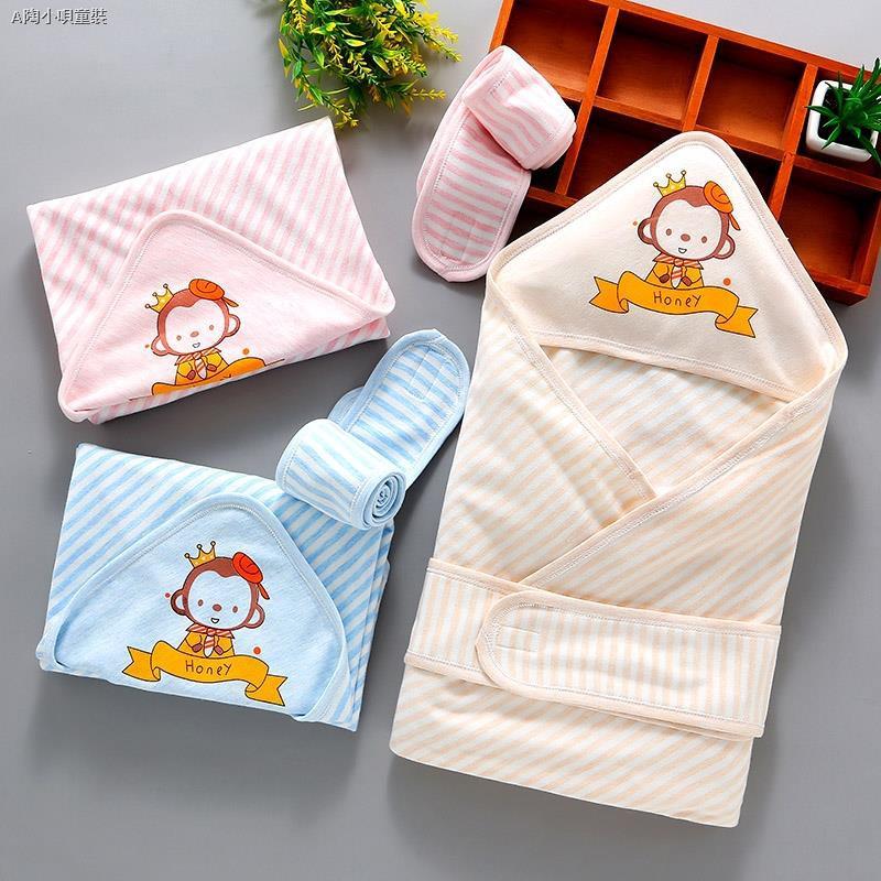 現貨▨❁❀新生兒包被純棉初生嬰兒抱被春秋抱毯春夏季薄款被子包巾寶寶用品