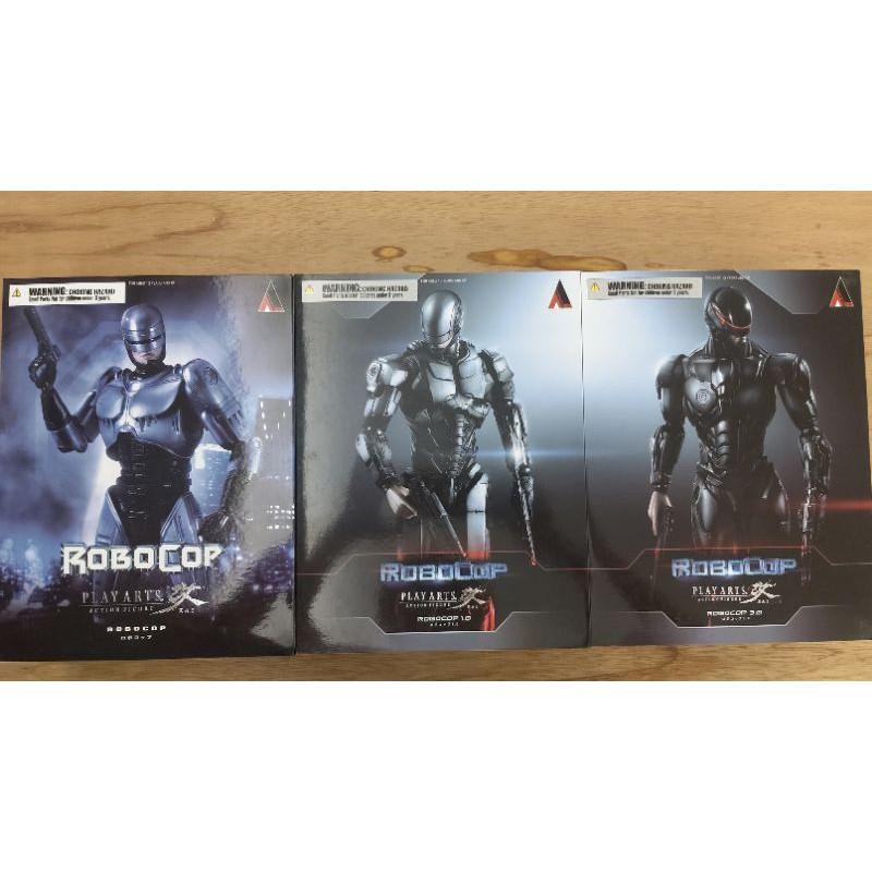 PLAY ARTS改 機器戰警ROBOCOP 3盒(不拆售)
