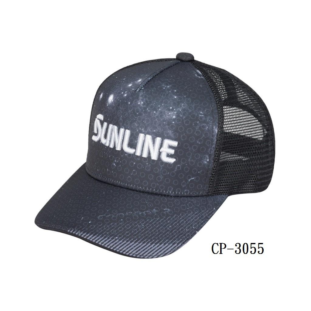 海天龍釣具~【SUNLINE】釣魚潮帽 星空網帽   迷彩帽  SUNLINE   日本帽【CP-3055】CP-397