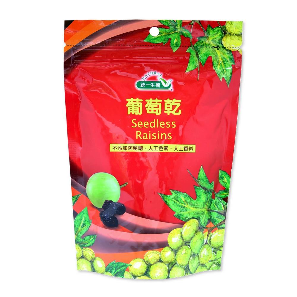 【統一生機】葡萄乾(250g/袋)