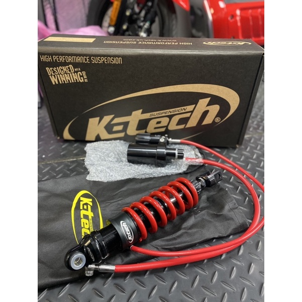 ✡安順車業✡全新 現貨 英國K-TECH雙掛瓶後避震器 TMAX560 TMAX530用