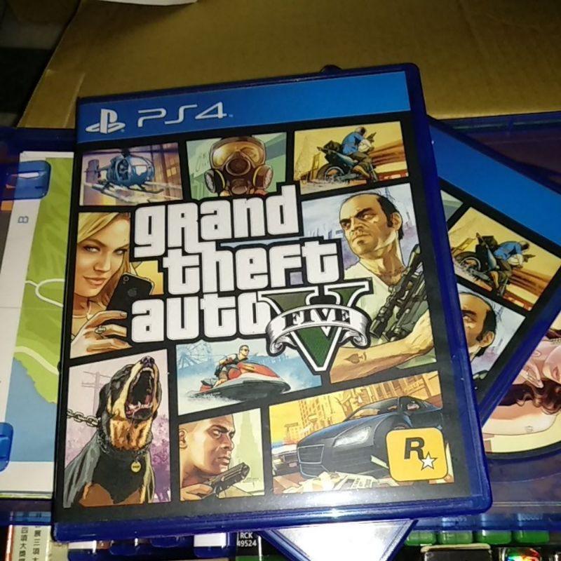 PS4 GTA5 中文