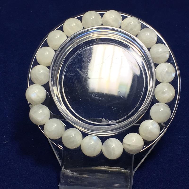 奶油月光石手珠(10mm)《特價中》