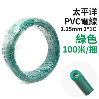 京港電子_中科【210301020007】【不可超取】太平洋 PVC電線 1.25