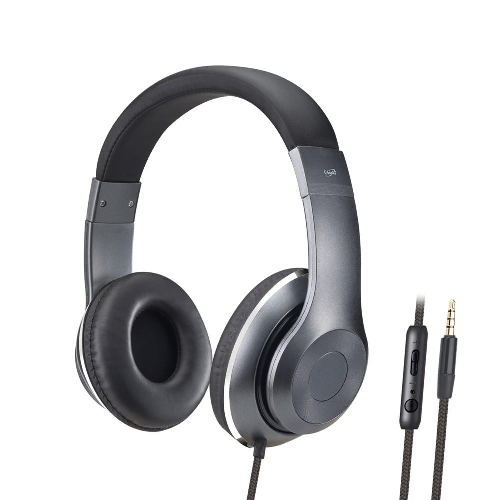 E-books 立體聲頭戴式耳機麥克風 S78【麗車坊11257】