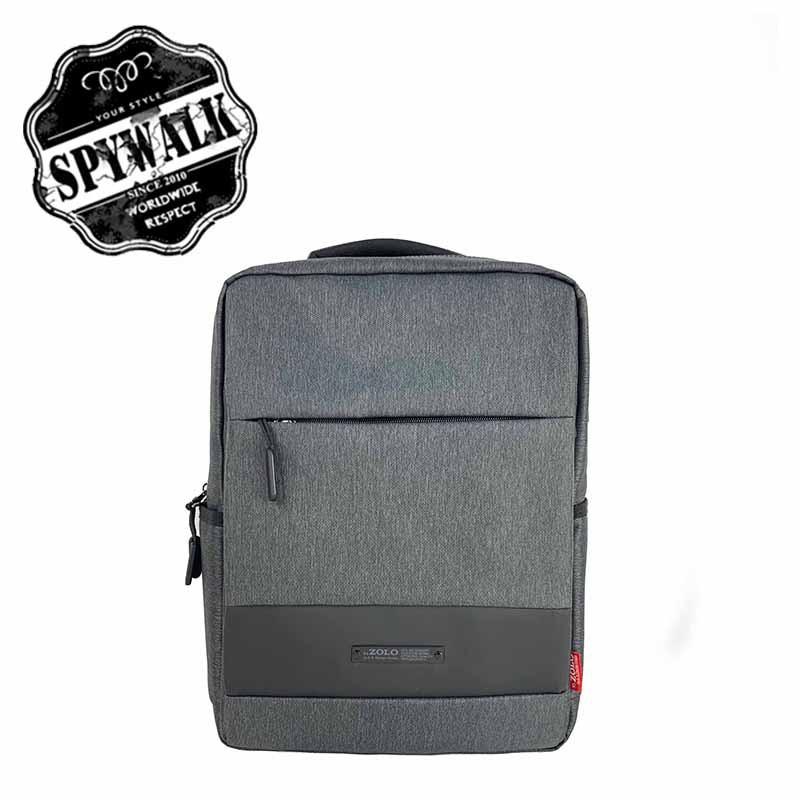 SPYWALK 休閒簡單素色後背包 附USB充電孔 NO:S9105