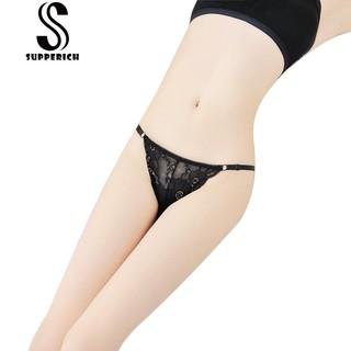 🍒新品現貨🍒 女士性感可調節大小比基尼內褲 無痕誘惑蕾絲情趣內褲 8813 🍒批發🍒