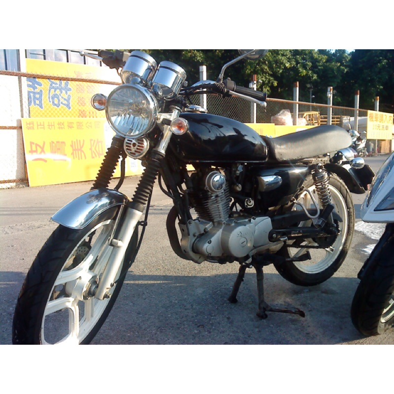 [自售]2004年 SYM野狼傳奇125cc 不需整理