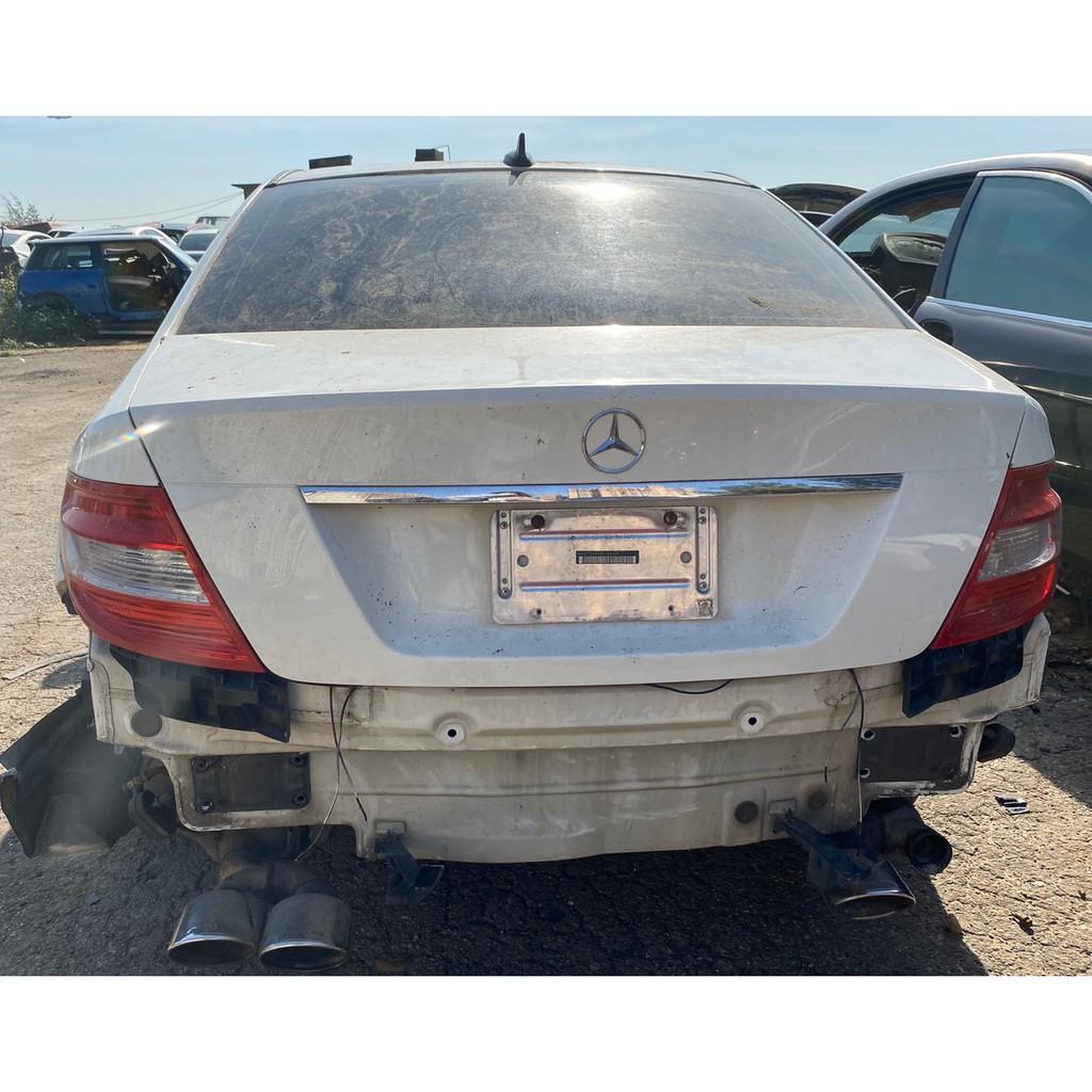 包料王 2008年 w204 c300 全車拆賣 零件拆賣 內裝底盤門引擎變速箱避震器大燈開關音響主機螢幕