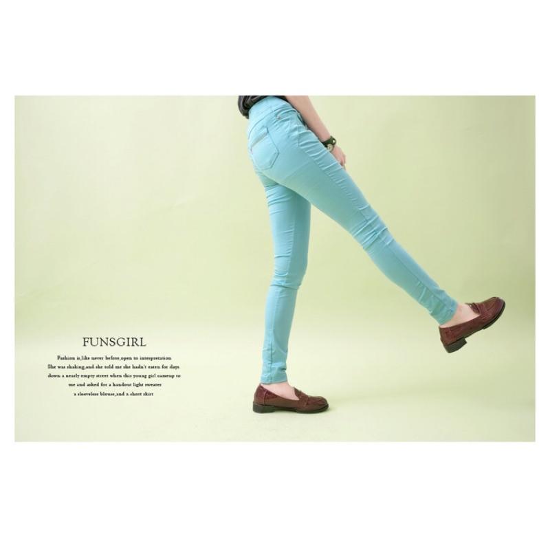 MIT顯瘦褲-人魚褲絲緞感舒適激瘦耐米褲 芳子時尚 funsgirl