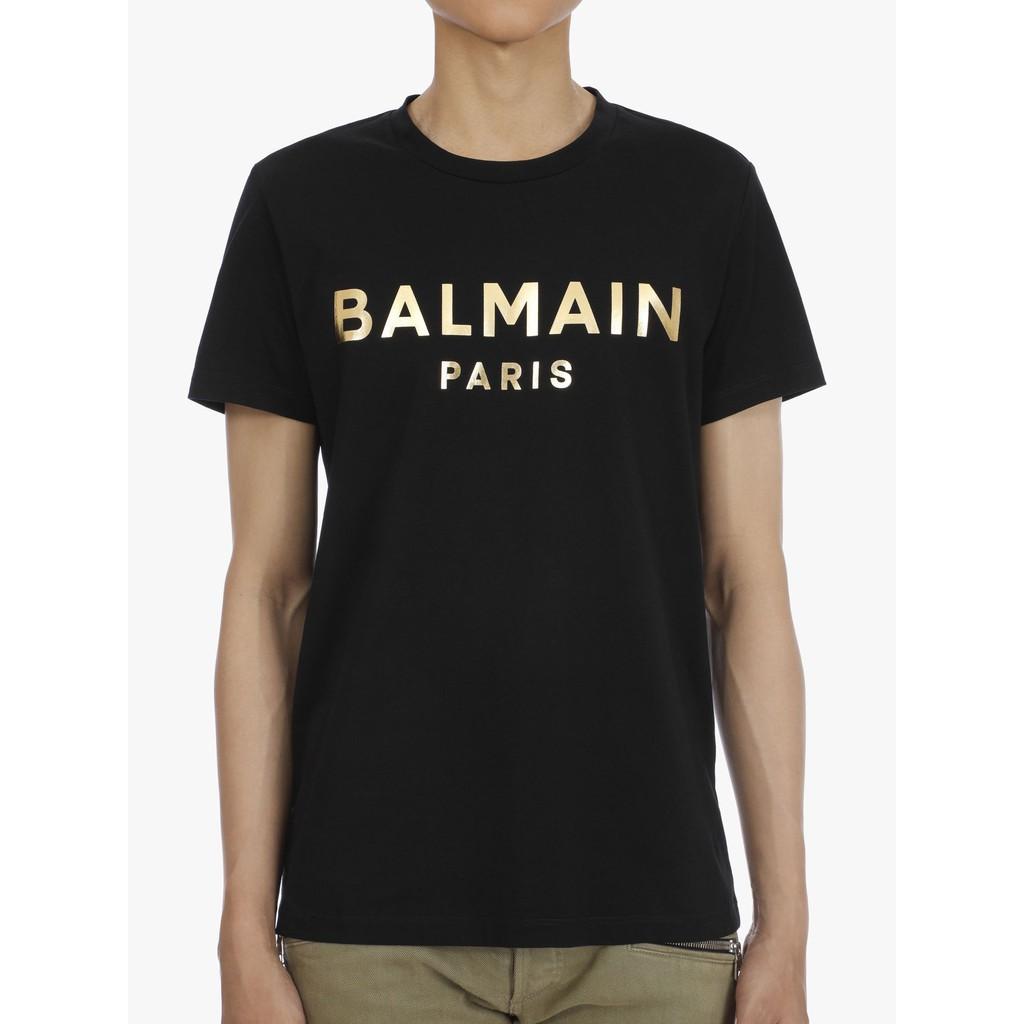 Balmain 巴爾曼短袖  男生T恤 純棉短袖  圓領 短袖T恤  時尚百搭 短袖 短t 短袖上衣 休閒短t