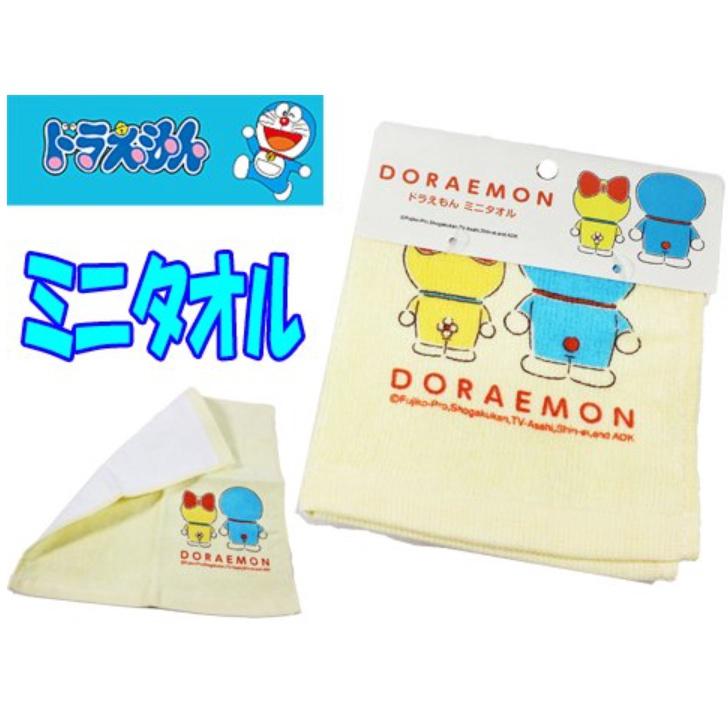 日本商品 Doraemon50週年 哆啦A夢手帕 方巾 小叮噹童巾 哆啦A夢毛巾 小叮噹毛巾 幼兒必備 現貨