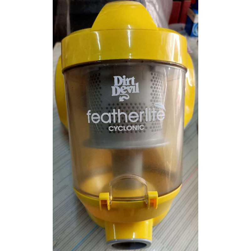 美國Dirt Devil featherlife 檸檬色第四代旋風無袋吸塵器 ZH-02
