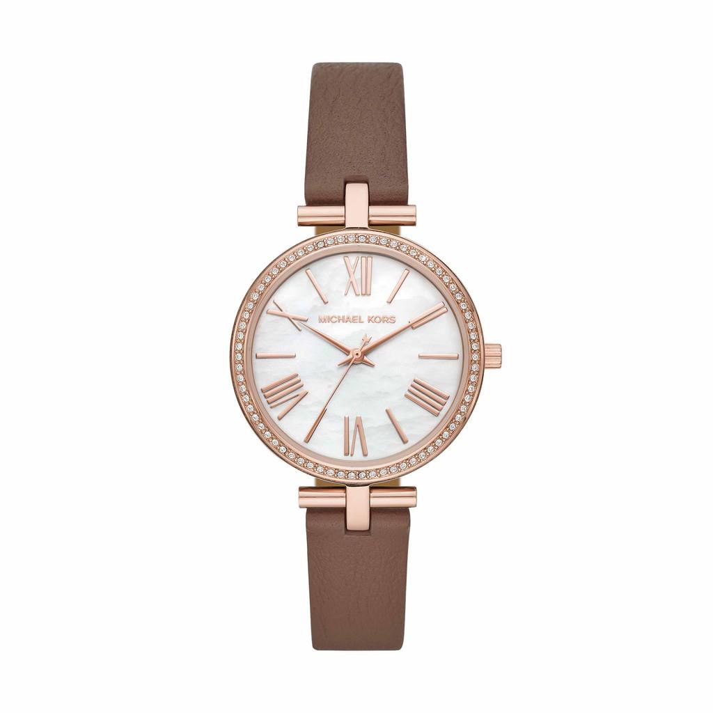 Michael Kors | MACI 優雅晶鑽真皮帶腕錶 (MK2832)