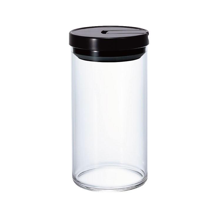 Hario 咖啡保鮮罐-黑色 1000ml/MCN-300B