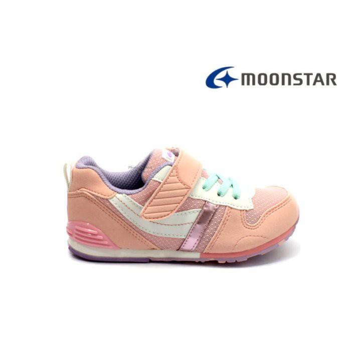 價格可議 新貨到   日本品牌月星 MOONSTAR CR HI 兒童運動鞋 ( 櫻花粉 MSC2121S64 )