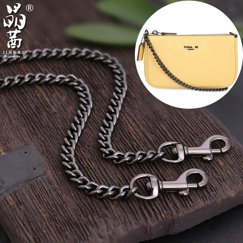 包包背帶 🍒 配件 🍒🍒適用寇馳coach小包包鏈條 配件 金屬包鏈子斜跨 肩帶 替換背 包帶  單買