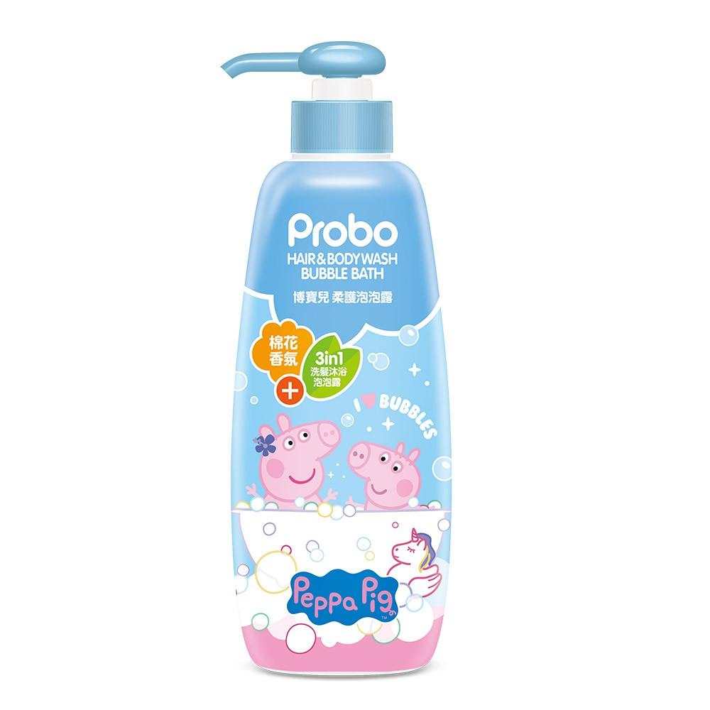 博寶兒柔護泡泡浴-佩佩豬【康是美】