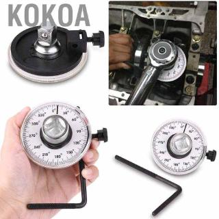 KOKOA 1/ 2英寸可調驅動角度扭力扳手測量汽車規工具套裝360度