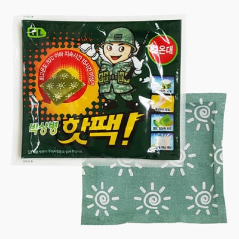 『預購』 - 韓國軍人暖暖包代購!