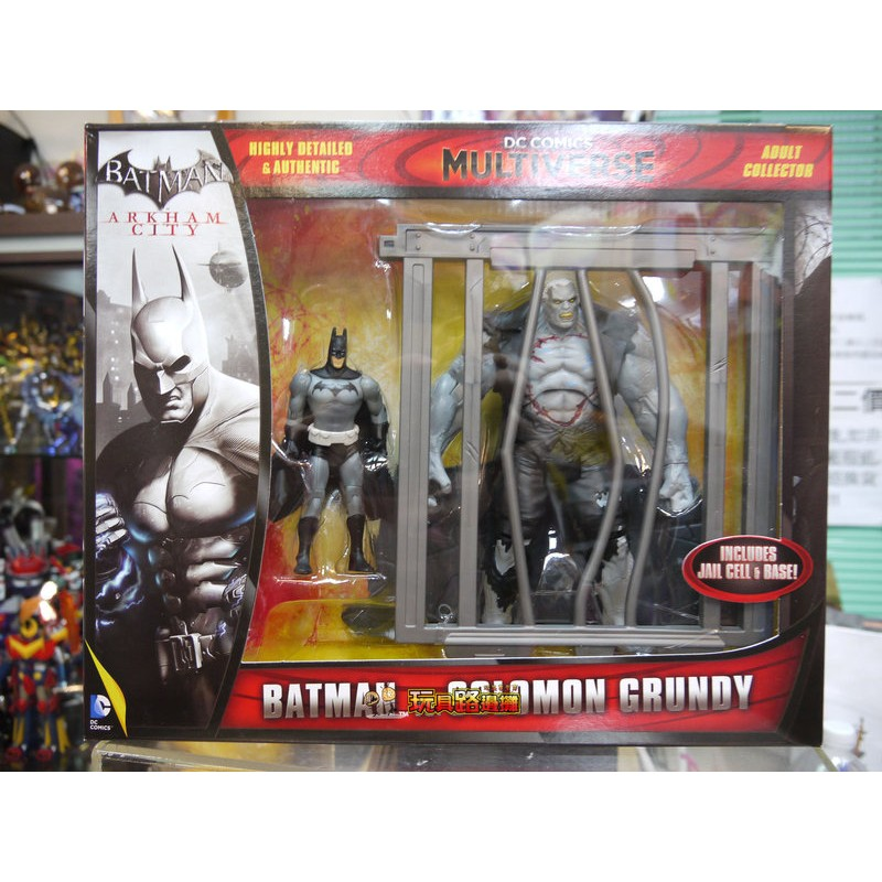 {玩具路邊攤} Mattel DC 4吋 Multiverse 蝙蝠俠 Batman vs Solomon Grundy