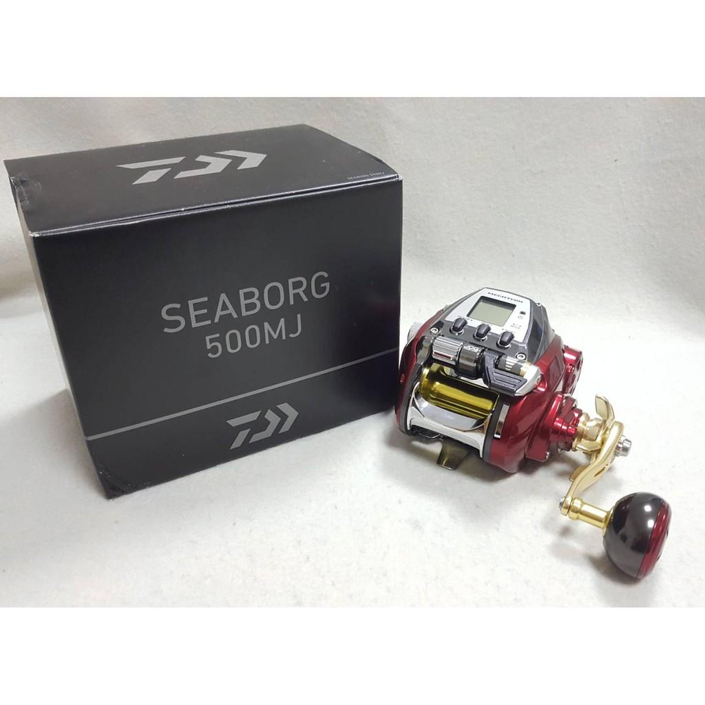🔥【平昇釣具】🔥DAIWA 19 SEABORG 500MJ 紅色 電捲線器 全新
