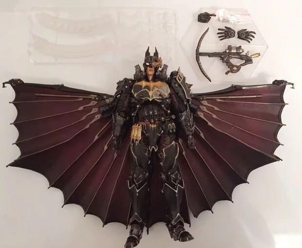 😊公仔玩家😊 Play arts改 pa改 DC漫畫英雄 蒸汽朋克 重裝 蝙蝠俠 BATMAN 散貨 禮物
